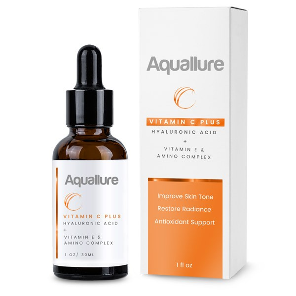 Aquallure Vitamin C Plus Hyaluronic & Amino Acids Serum