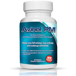 Fall Asleep And Stay Asleep Naturally With Avinol PM.