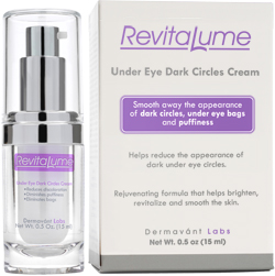 Fade away dark under-eye circles with RevitaLume